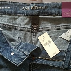 Jean shorts NWT size 18